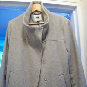 Old Navy Funnel Neck Pea Coat